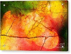 Cracked Kaleidoscope Acrylic Print by Silvia Ganora
