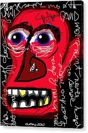 Crackhead 2 Acrylic Print