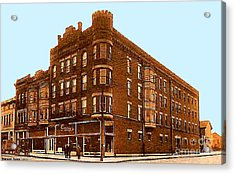 Craig And Sons Department Store In Cambridge Oh Acrylic Print by Dwight Goss