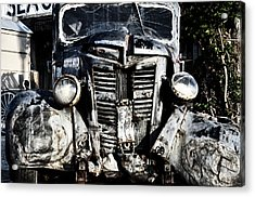 Crash Acrylic Print by Bill Cannon