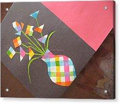 Creative Mind Unfolds  Acrylic Print by Sonali Gangane