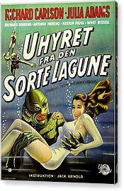 Creature From The Black Lagoon, Aka Acrylic Print by Everett