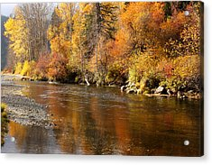 Creek Of Leavenworth Acrylic Print