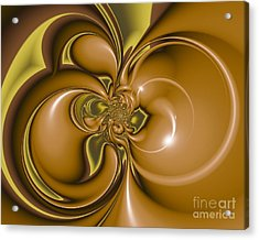 Creme De Menthe Acrylic Print
