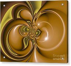 Acrylic Print featuring the digital art Creme De Menthe by Michelle H