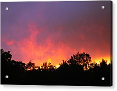 Acrylic Print featuring the photograph Crepuscule by Bruce Patrick Smith