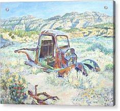 Crescent Canyon Relic Acrylic Print