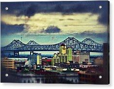 Crescent City Connection Acrylic Print