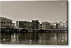 Acrylic Print featuring the photograph Crete Reflected by Eric Tressler