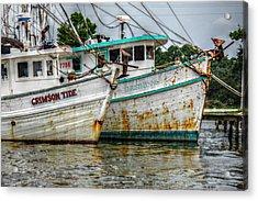 Crimson Tide And Christi Lynne Acrylic Print