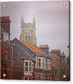 #cromer #latergram #buildings Acrylic Print