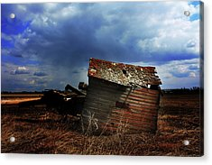 Crooked Breeze One Acrylic Print by Empty Wall
