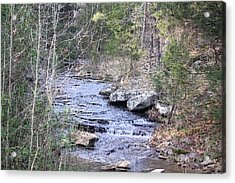 Acrylic Print featuring the photograph Crooked Creek by Donna G Smith