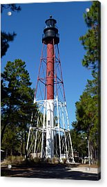 Crooked River Lighthouse Acrylic Print by Carla Parris