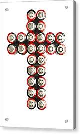 Cross Batteries 2 Acrylic Print by John Brueske