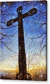 Cross - Crucifix Acrylic Print