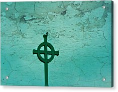 Cross Acrylic Print by Debbie Sikes