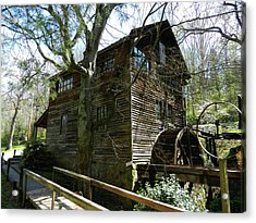Acrylic Print featuring the photograph Cross Eyed Cricket Grist Mill by Paul Mashburn