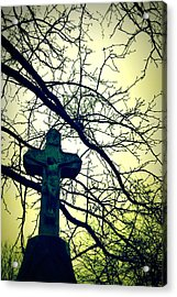 Cross In The Trees Acrylic Print