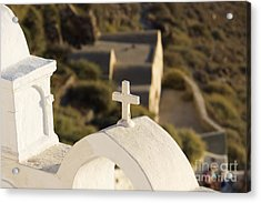 Acrylic Print featuring the photograph Cross by Leslie Leda