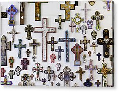 Crosses Acrylic Print