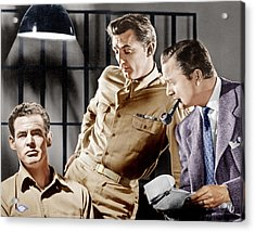 Crossfire, From Left Robert Ryan Acrylic Print by Everett