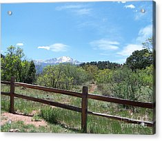 Crossing The Fence Acrylic Print by Jack Norton
