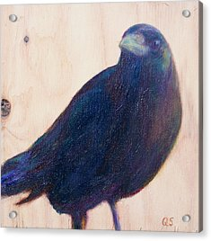 Crow Friend Acrylic Print