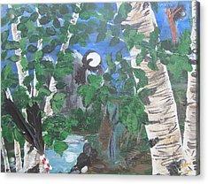 Crow Majik Acrylic Print