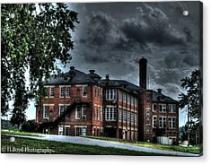 Crownsville Main Acrylic Print by Heather  Boyd
