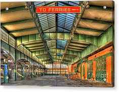 Crrnj Terminal I Acrylic Print by Clarence Holmes