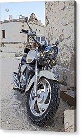 Cruiser Motor Bike Turkey Acrylic Print by Kantilal Patel