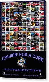 Cruisin Poster Acrylic Print by Bill Dutting