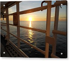 Acrylic Print featuring the photograph Cruising by Sheila Silverstein