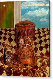 Crunchy Cheese - Autumn Acrylic Print