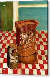 Crunchy Cheese - Summer Acrylic Print by Thomas Weeks