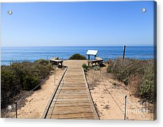 Crystal Cove State Park Ocean Overlook Acrylic Print by Paul Velgos