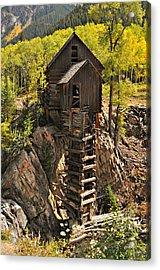 Crystal Mill 6 Acrylic Print by Marty Koch