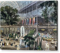 Crystal Palace Acrylic Print by Granger