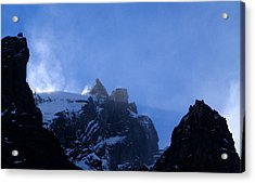 Crystal Plumes Acrylic Print by Norm Holmberg