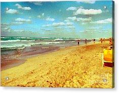 Cuba Beach Acrylic Print