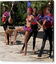Cuba Dance Acrylic Print