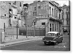 Acrylic Print featuring the photograph Cuban Car by Lynn Bolt
