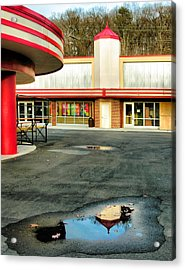 Cuddle Up Pavilion And The Arcade II Acrylic Print by Steven Ainsworth