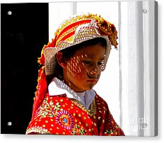 Cuenca Kids 198 Acrylic Print