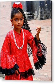 Cuenca Kids 209 Acrylic Print