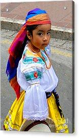 Cuenca Kids 210 Acrylic Print
