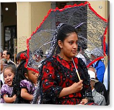 Cuenca Kids 45 Acrylic Print by Al Bourassa