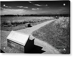 Culloden Moor Battlefield Site Highlands Scotland Acrylic Print by Joe Fox
