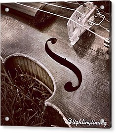 Culture & Texture #violin #classical Acrylic Print